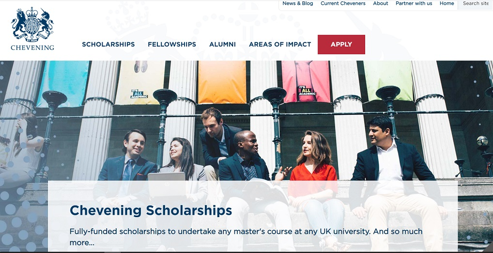 pendaftaran beasiswa chevening dibuka sampai 2 November 2021