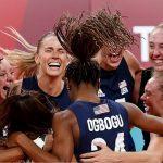 tim voli putri amerika meraih emas olimpade tokyo 2020