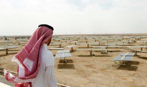 energi terbarukan di arab saudi