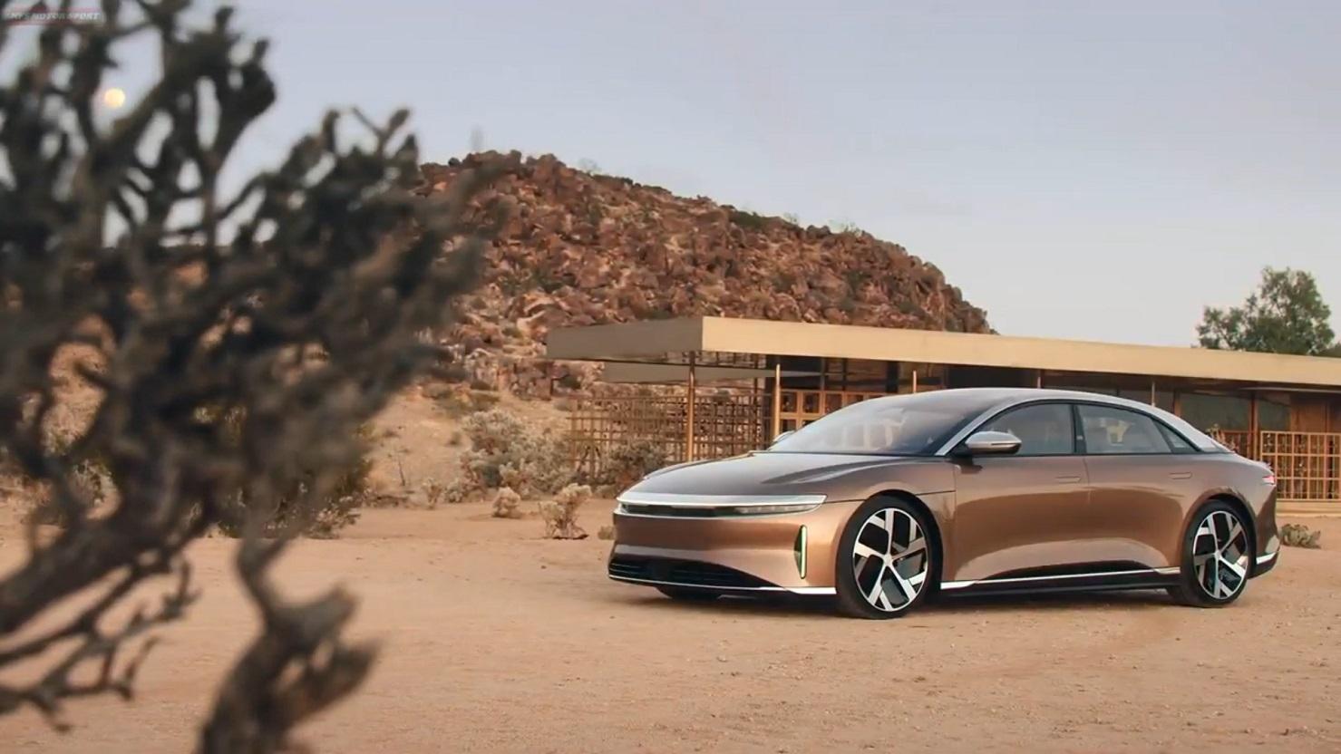 lucid motors akan hadirkan dream edition performance atau dream edition range