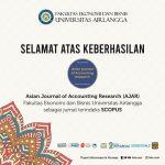 jurnal ajar unair menjadi jurnal akuntansi terindeks scopus pertama di indonesia