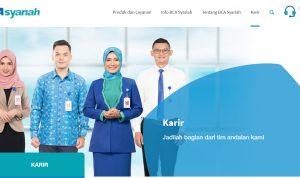lowongan kerja bca syariah