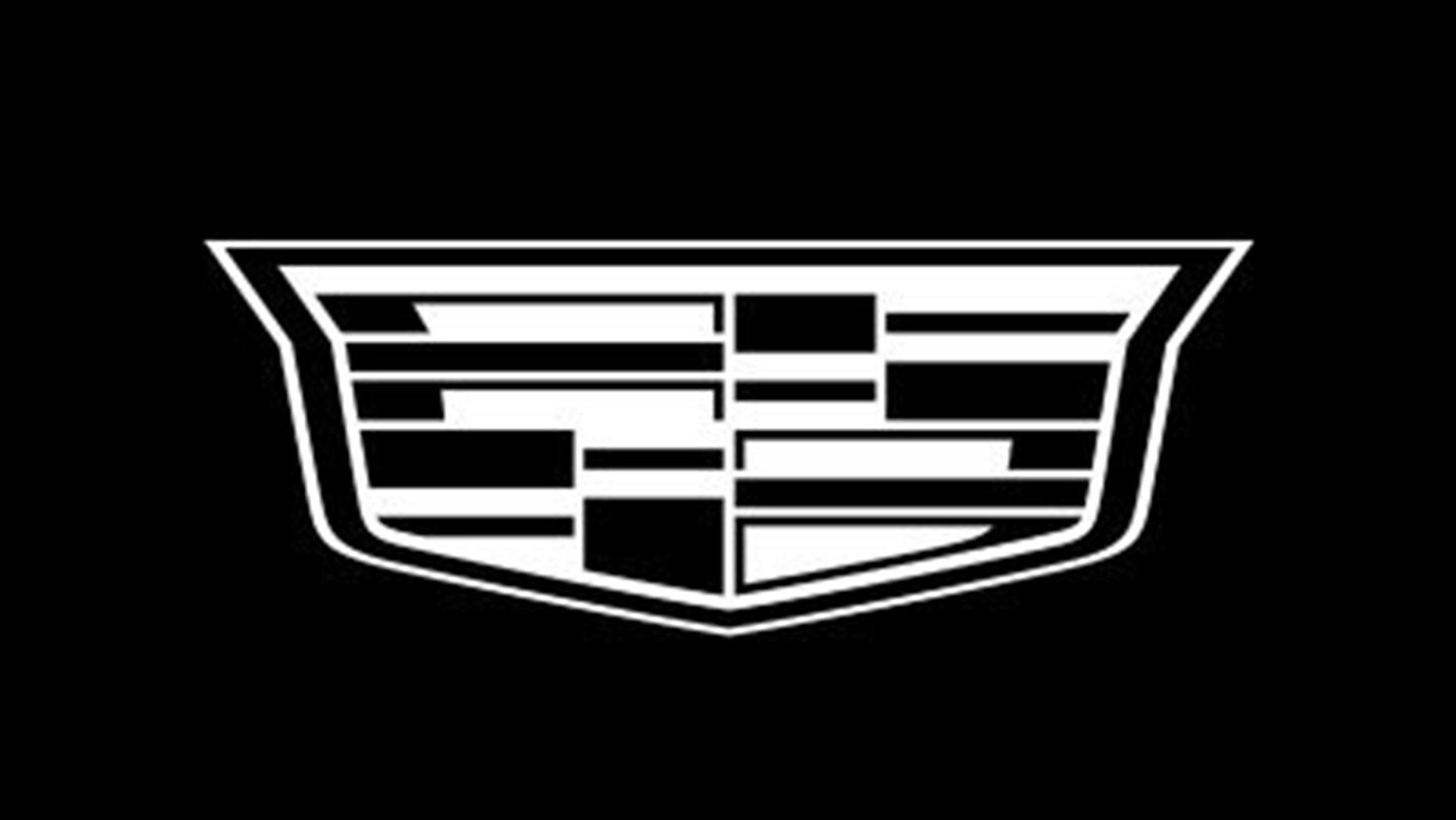 Situs web Cadillac dan properti media sosial telah beralih ke versi hitam dan putih dari puncaknya. (Cadillac)